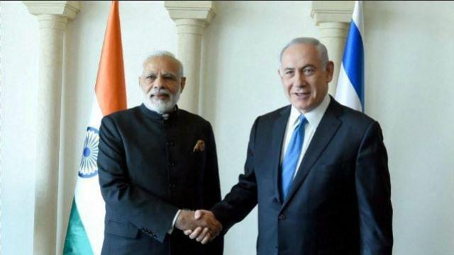 आतंकवाद से मिलकर लड़ेंगे भारत-इजराइल, किये सात समझौते